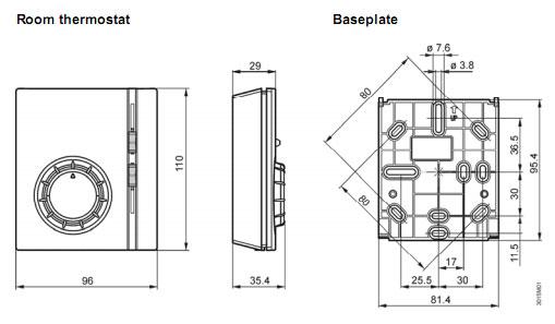 rab31西门子温控器接线图
