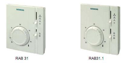 西门子空调温控器rab31